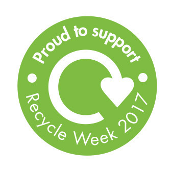 Recycle Week badge