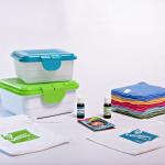 Reusable wet wipes kit