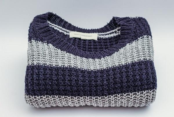 Stripey woolen jumper