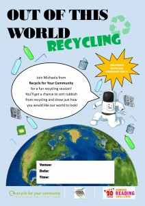 SRC 19 Recycling poster